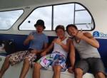 レンボンガン島 船